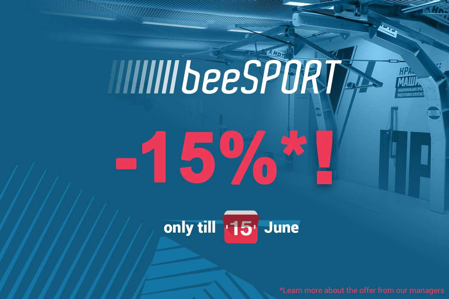 Special price for new players testing system beesport